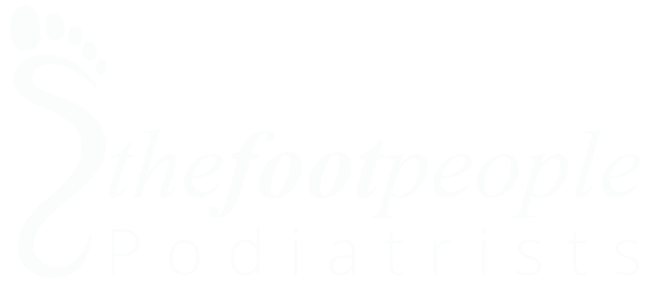Foot People white logo