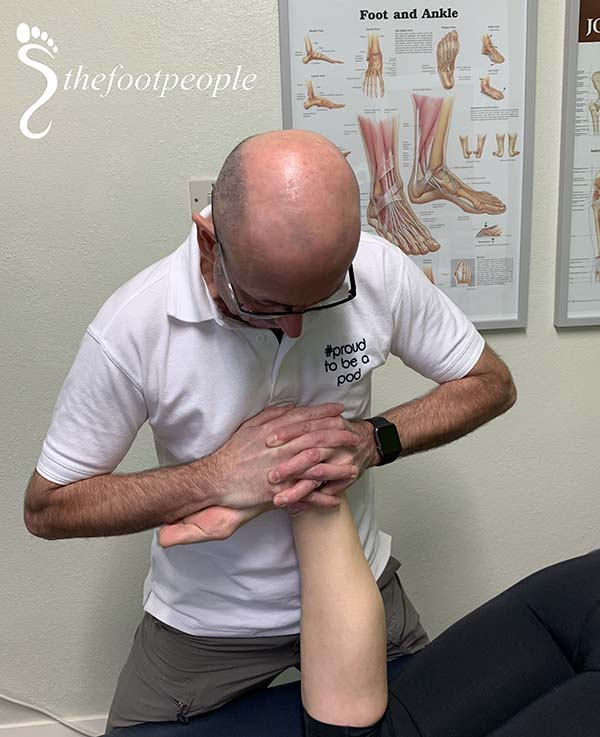 foot people lindsay chiropody podiatry ankle mobilisation